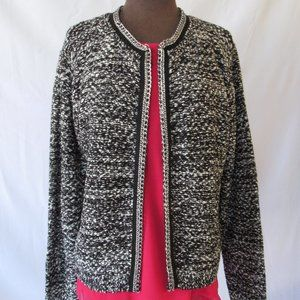 Yaira Tweed Open Blazers